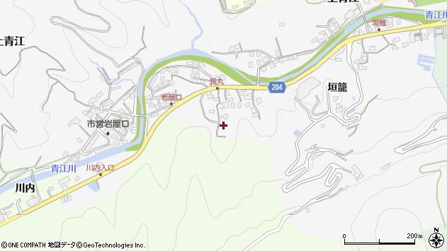 大分県津久見市上青江5257周辺の地図