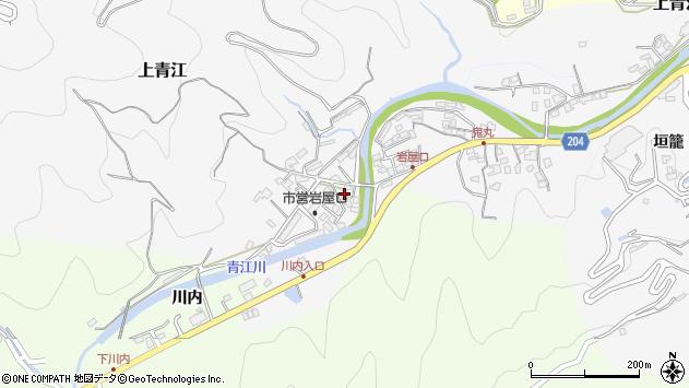大分県津久見市上青江5728周辺の地図