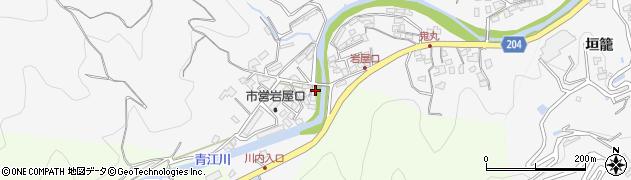大分県津久見市上青江5730周辺の地図