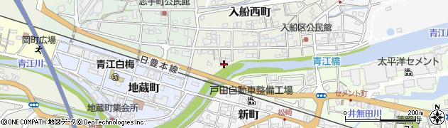 大分県津久見市入船西町16周辺の地図