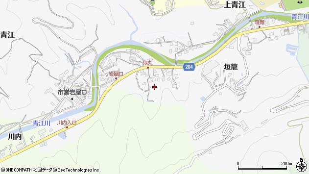 大分県津久見市上青江5254周辺の地図