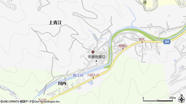 大分県津久見市上青江1311周辺の地図