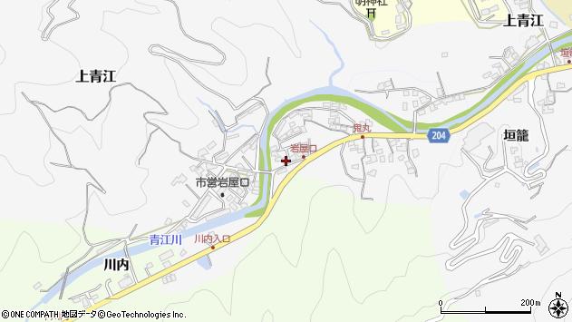 大分県津久見市上青江5321周辺の地図
