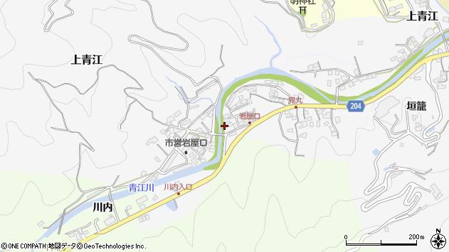 大分県津久見市上青江5319周辺の地図