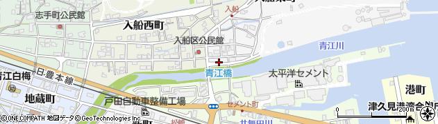 大分県津久見市入船東町1周辺の地図