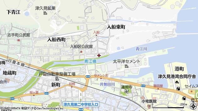 大分県津久見市入船東町6周辺の地図