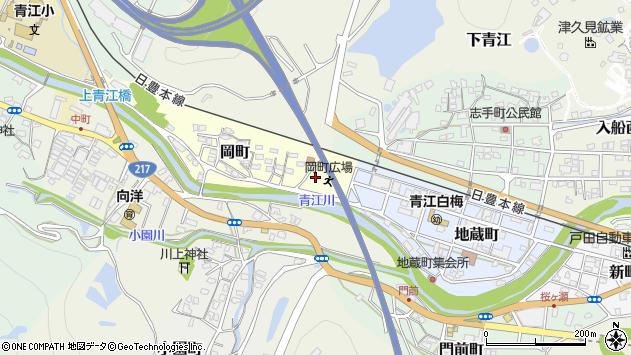 大分県津久見市岡町1周辺の地図