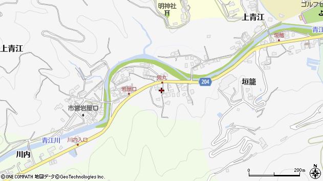 大分県津久見市上青江5235周辺の地図