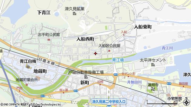 大分県津久見市入船西町11周辺の地図