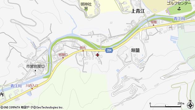 大分県津久見市上青江5245周辺の地図