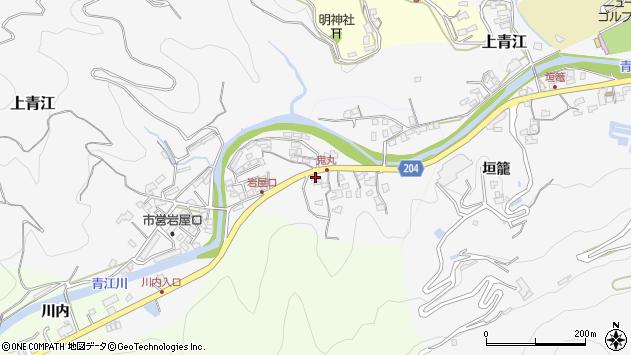 大分県津久見市上青江5232周辺の地図