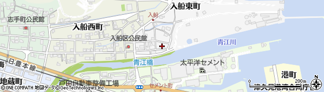 大分県津久見市入船東町7周辺の地図