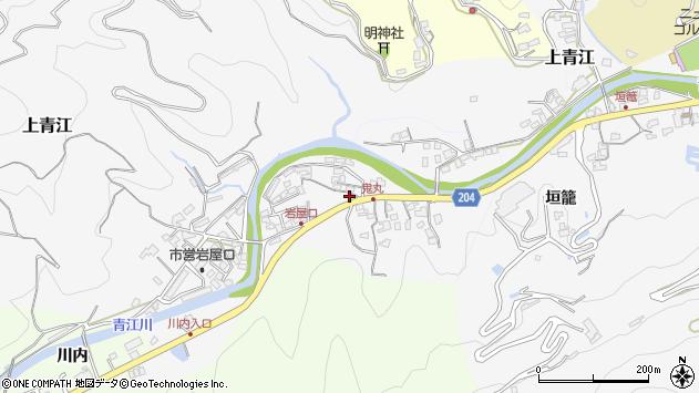 大分県津久見市上青江5285周辺の地図