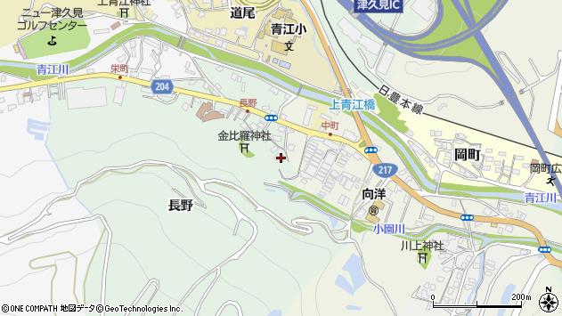 大分県津久見市上青江4691周辺の地図