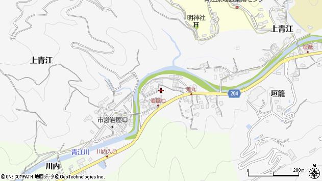 大分県津久見市上青江5310周辺の地図