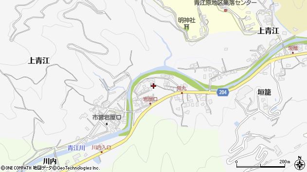 大分県津久見市上青江5294周辺の地図