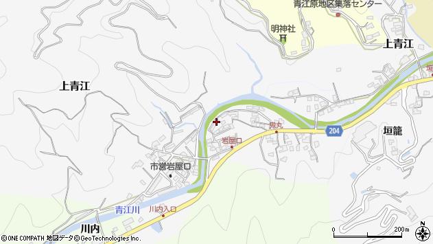 大分県津久見市上青江5301周辺の地図