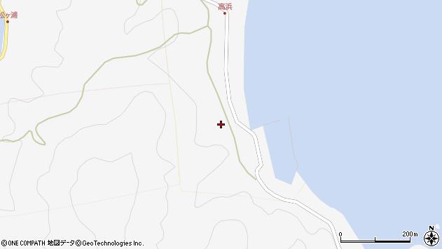 大分県津久見市四浦6251周辺の地図