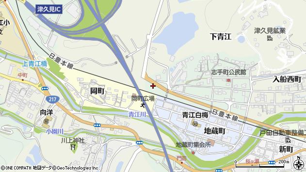大分県津久見市志手町14周辺の地図