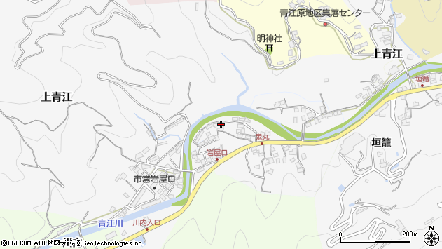 大分県津久見市上青江5237周辺の地図