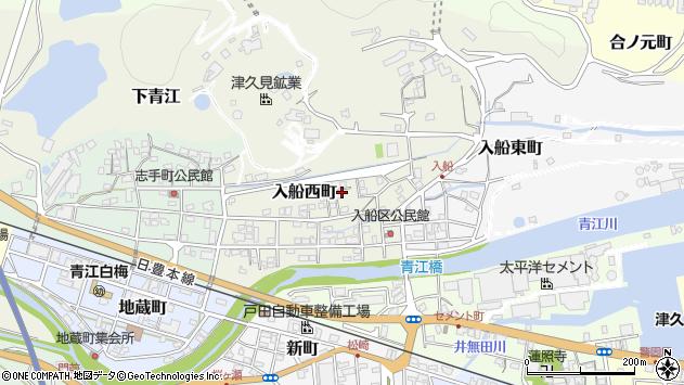 大分県津久見市入船西町7周辺の地図