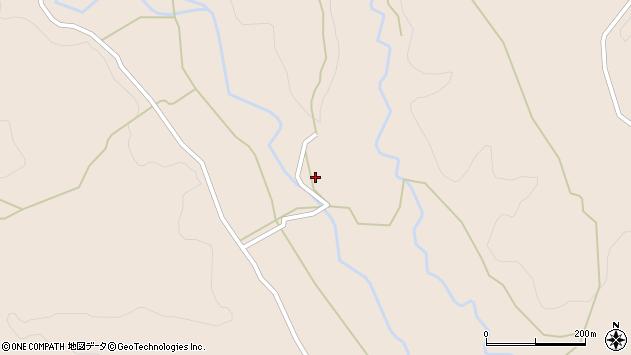 大分県竹田市直入町大字長湯7375周辺の地図