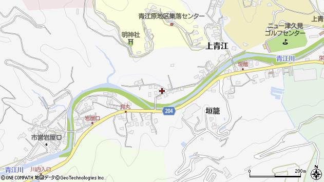 大分県津久見市上青江2288周辺の地図