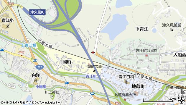 大分県津久見市下青江2534周辺の地図