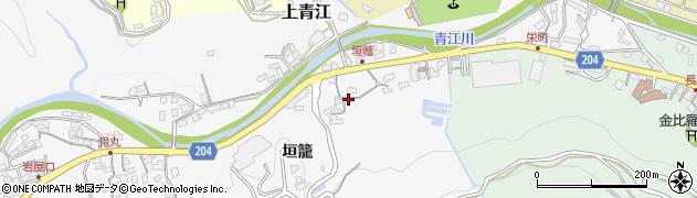 大分県津久見市上青江5055周辺の地図