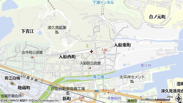 大分県津久見市入船西町6周辺の地図