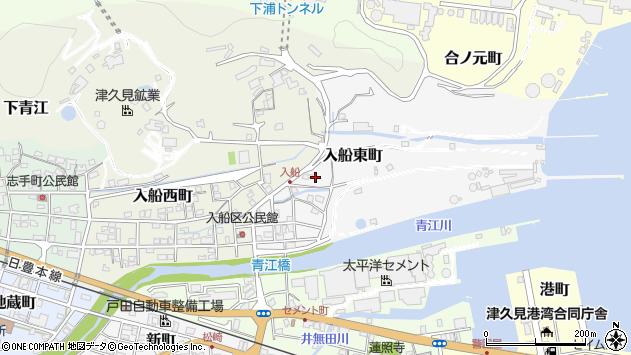 大分県津久見市入船東町10周辺の地図