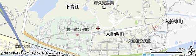 大分県津久見市入船西町24周辺の地図