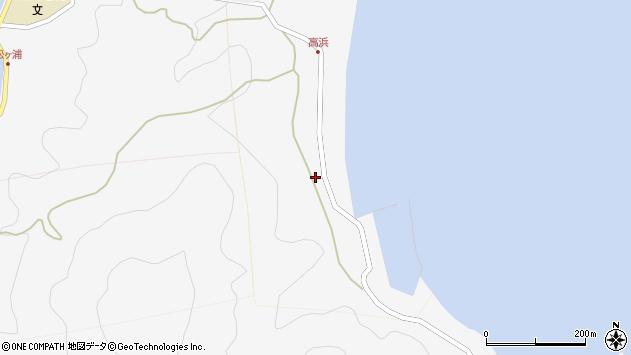 大分県津久見市四浦6204周辺の地図