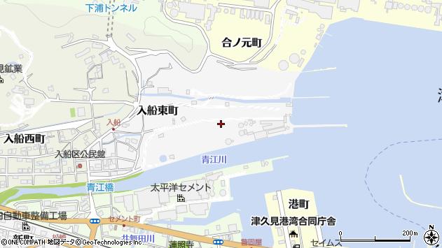 大分県津久見市入船東町13周辺の地図