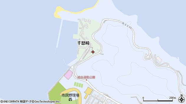 大分県津久見市千怒4856周辺の地図