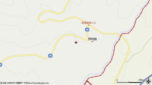 大分県玖珠郡九重町湯坪628周辺の地図