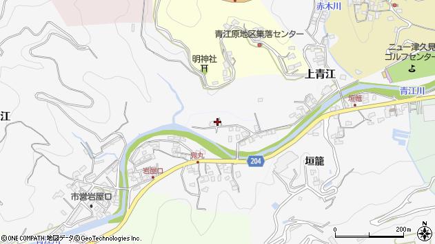 大分県津久見市上青江2329周辺の地図