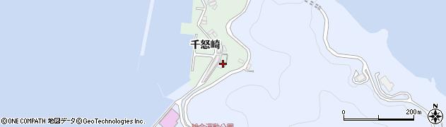 大分県津久見市千怒4855周辺の地図