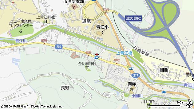 大分県津久見市上青江4614周辺の地図
