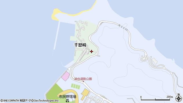 大分県津久見市千怒4950周辺の地図