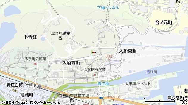 大分県津久見市入船西町23周辺の地図