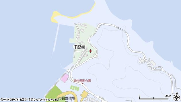 大分県津久見市千怒4869周辺の地図