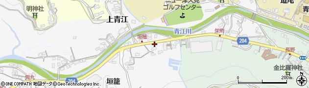 大分県津久見市上青江5021周辺の地図