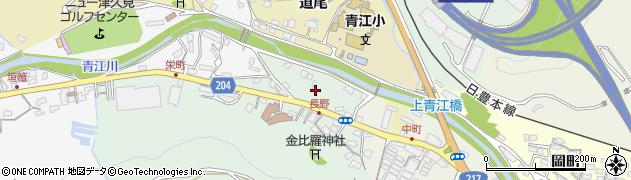 大分県津久見市上青江4820周辺の地図