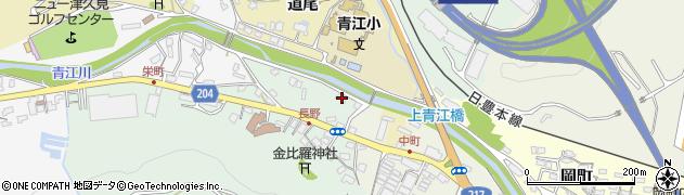 大分県津久見市上青江4623周辺の地図