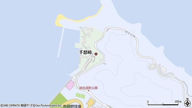 大分県津久見市千怒4876周辺の地図