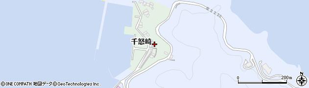 大分県津久見市千怒4875周辺の地図