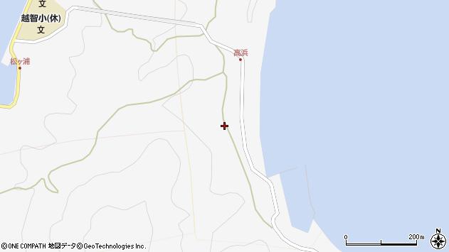 大分県津久見市四浦6191周辺の地図