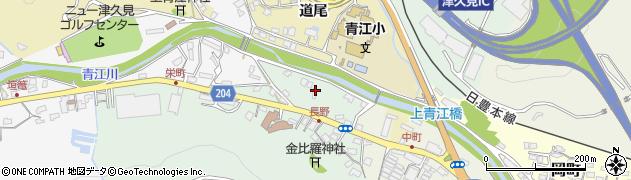 大分県津久見市上青江4911周辺の地図