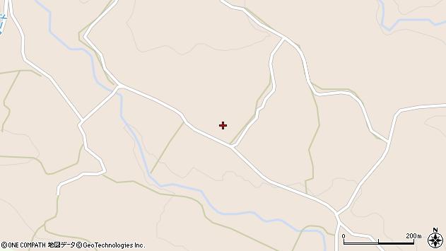 大分県竹田市直入町大字長湯5736周辺の地図